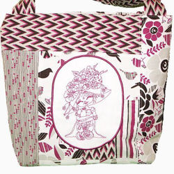 """Picture of Beach/Tote Bag - """"Girly"""" Collection"""