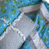 """Picture of Rag Quilt """"Mittens"""""""