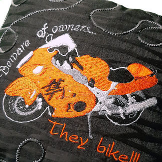 Picture of Pillow - Bike