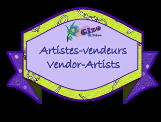Image de la catégorie Artistes-Vendeurs