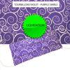 Tourbillons Violet - Purple Swirls