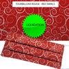 Tourbillons Rouge - Red Swirls